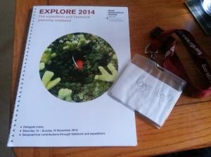 Explore 2014 Programme